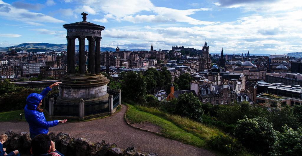 Fort William, Sea-Kayaking & Edinburgh