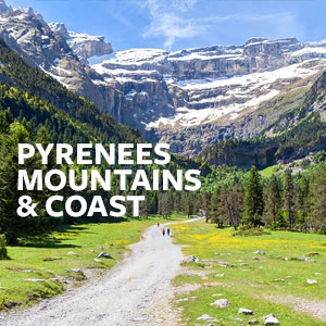 Pyrenees Mountains & Coast