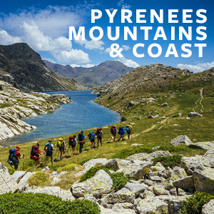 Pyrenees Mountains & Coast
