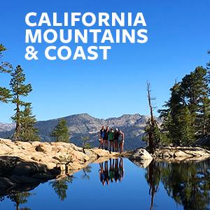 California Mountains & Coast