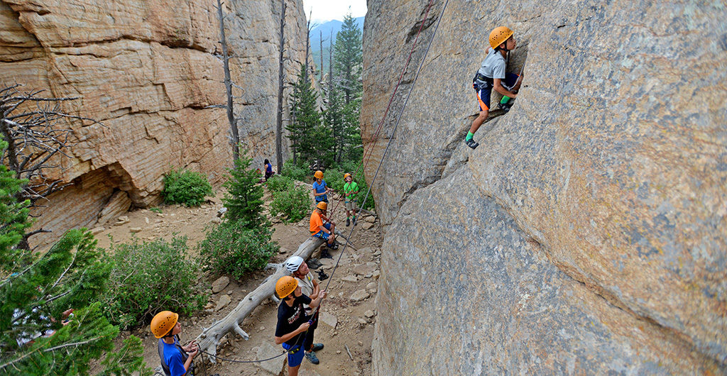 Rock Climbing & Rafting the Poudre River