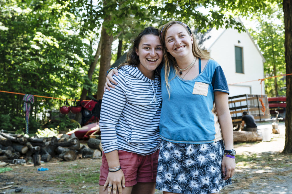 Emily Hoffman was a four time Apogee student before becoming a trip leader in 2016. Isa Caliandro, a two time Apogee student, has now led for Apogee for two years.