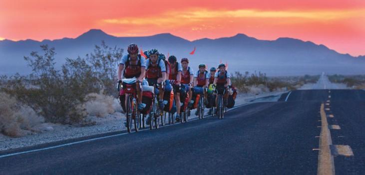 Apogee Adventures teen bike trip across America, Mojave desert
