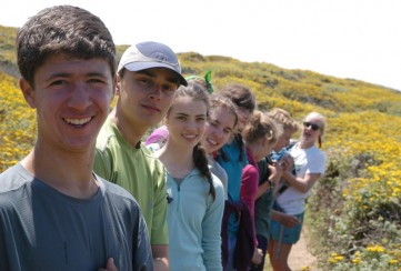 Apogee Adventures teen hiking trip in California