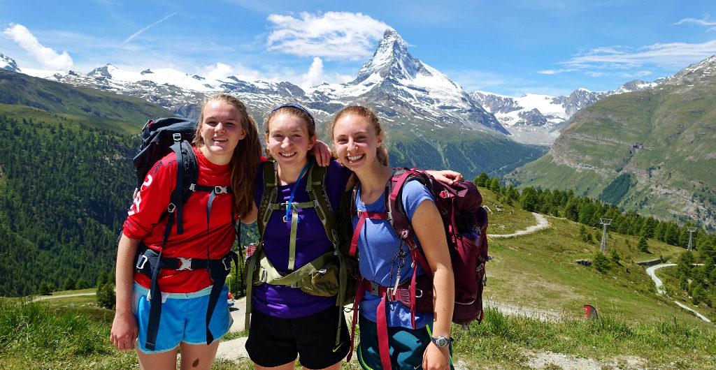 Swiss Alps & the Aletsch Glacier
