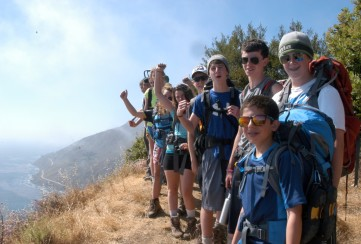 Apogee Adventures teen backpacking trip in California