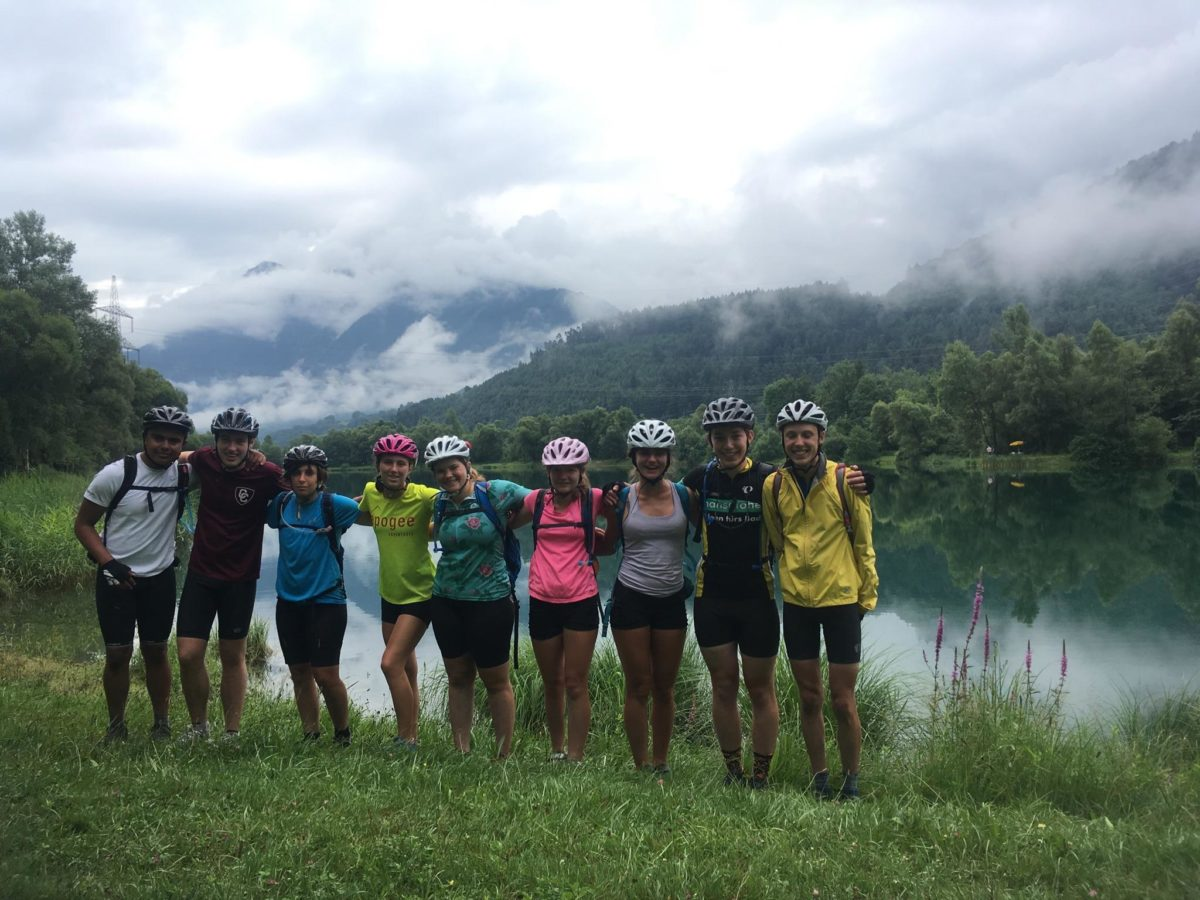 ECC Hits the Alps!