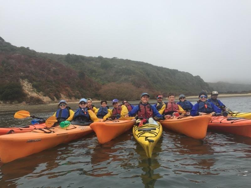 CMCAers Kayaking