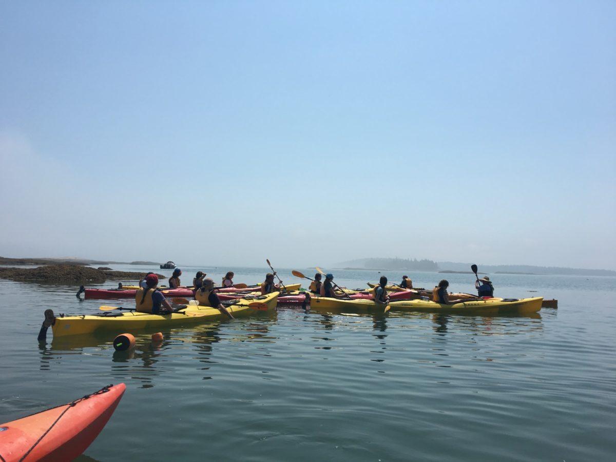 DEX2B Takes on Kayaking