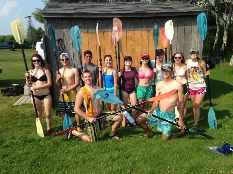 MCCE - kayaking
