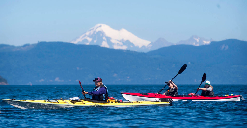 Sea Kayaking and Community Service in the San Juan Islands & Seattle